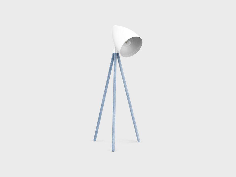 Lamp Blue